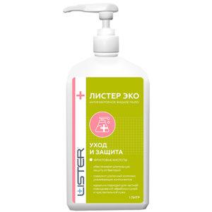 "Мыло жидкое антимикробное ""Листер Эко"" | Lister Distribution"