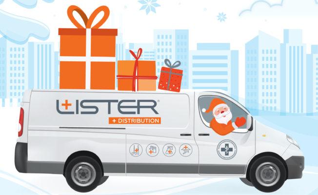 Дед Мороз приходит в дом! | Lister Distribution